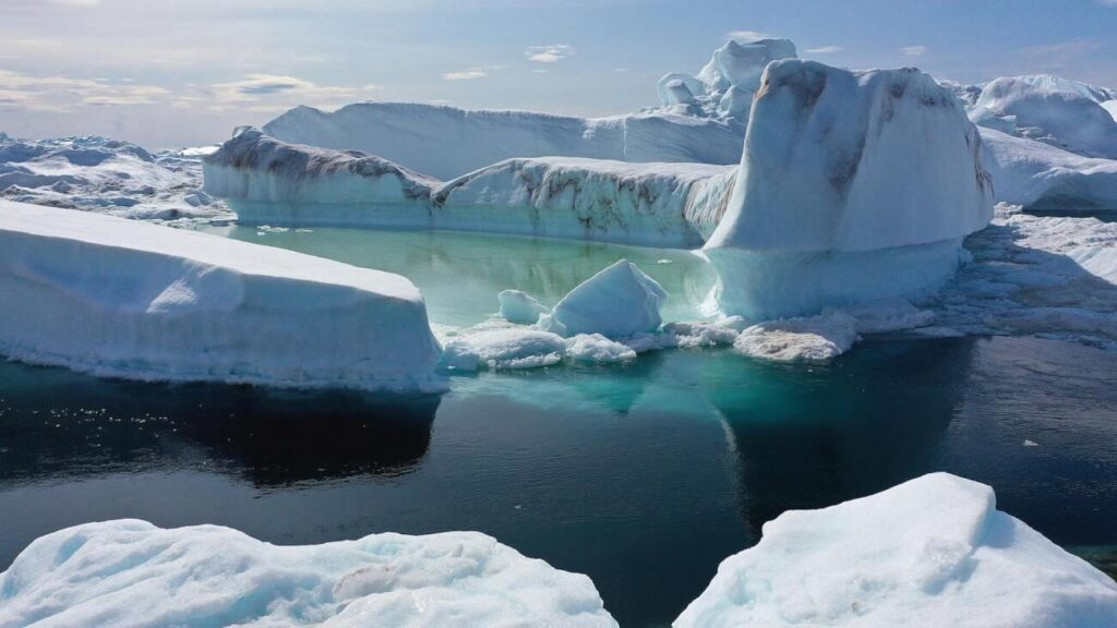 Greenland is melting catastrophically
